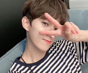 DK, pledis, and seokmin image