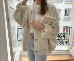 fashion, white, and beige image