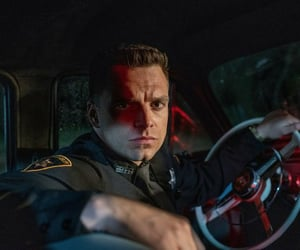 sebastian stan, netflix, and the devil all the time image