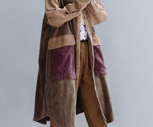 windbreaker, women coat, and loose fitting coat image