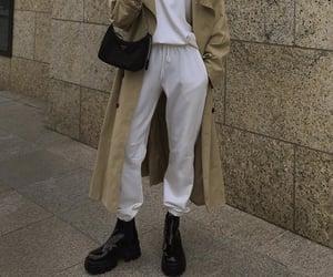 beige trench coat image