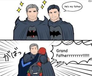 batman, robin, and tim drake image