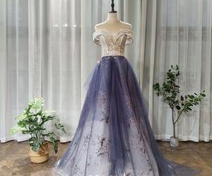 formal dresses, navy blue dress, and prom dress image