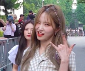 goth, hayoung, and fromis_9 image