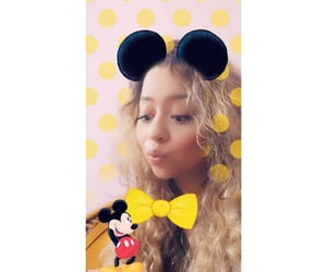 blonde, mickey, and believe in magic image