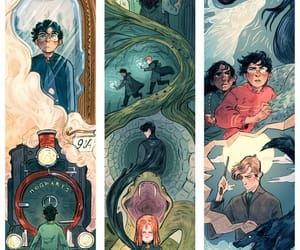 draws, fan art, and harry potter image