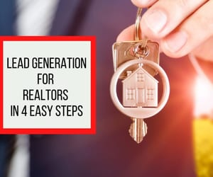 leads, Real Estate, and lead generation image