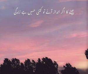 life, urdu quotes, and we heart it image