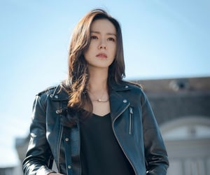 actor, black, and hyun bin image