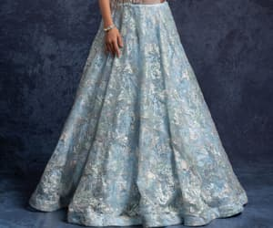 fashion, designer gowns, and gowns image