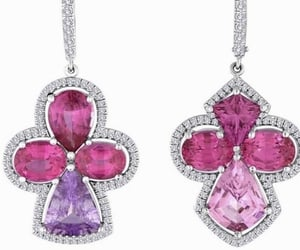 Lavender Pink Spinel Earrings Bella Campbell @cambellian_collection on Instagram