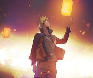 anime, light, and naruto image