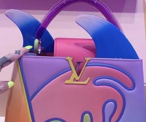bag, Louis Vuitton, and colors image