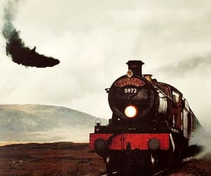 harry potter, hogwarts express, and train image