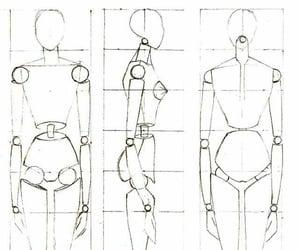 anime, digitalart, and shape image