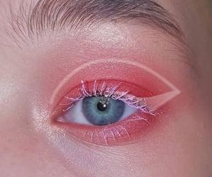 beautiful eyes, eye, and eyelid image