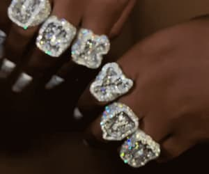 diamonds, gif, and fashion image