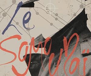 Alain Delon, le samourai, and french movie image