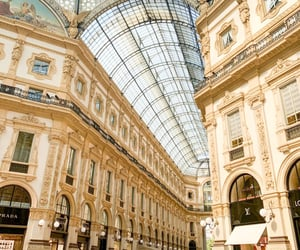 travel, italy, and milan image