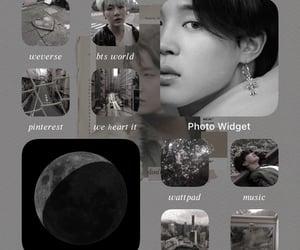 aesthetic, widget, and ios image