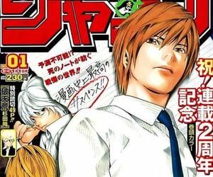 death note, light, and manga image