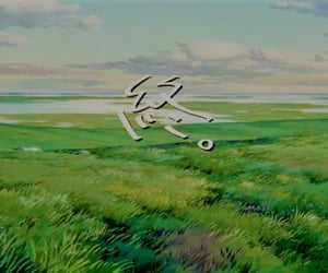 aesthetic, ghibli, and movie image