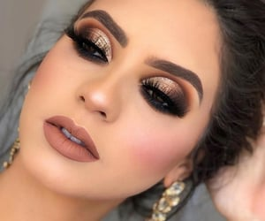 beauty, makeup, and makeup look image