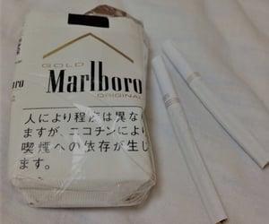 cigarette, marlboro, and white image