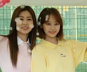 lq, izone, and kim chaewon image