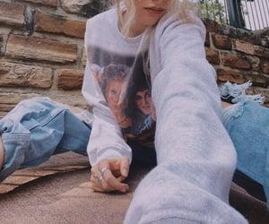 cozy, fall, and sweatshirt image