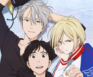 anime, bl, and victor image