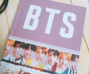 korea, copybook, and bts image