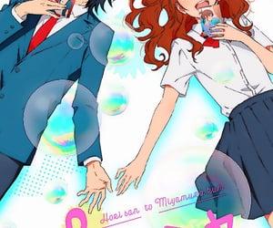 anime girl, kawaii, and love image