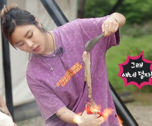 cooking, food, and jung wheein image