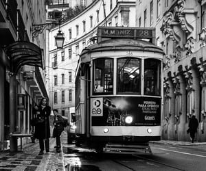 black and white, street, and vintage image