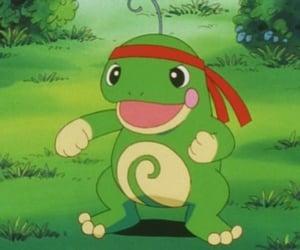 aesthetic, green, and pokemon image