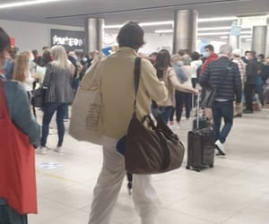 airport, Harry Styles, and style image