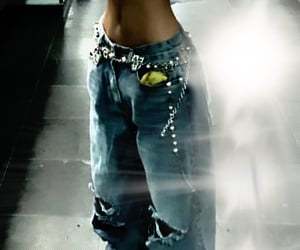 jeans and y2k image
