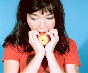 archive, bjork, and theme image
