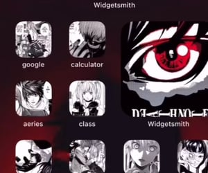 aesthetic, anime, and app image