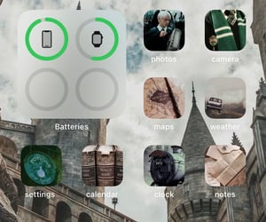 aesthetic, iphone, and slytherin image