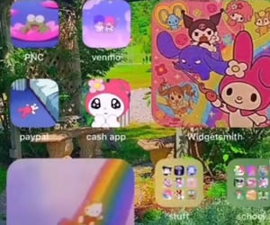 aesthetic, ios, and hello kitty image