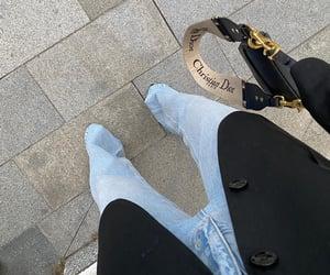 bag, black, and Christian Dior image