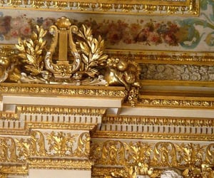 aesthetic, gold, and royal image