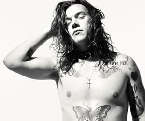 Harry Styles, Tattoos, and wallpaper image