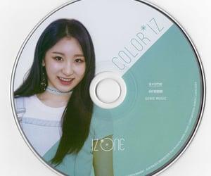 cd, girl group, and izone image