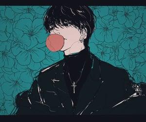 aesthetic, anime, and bubblegum image