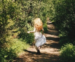 girl, aesthetic, and nature image