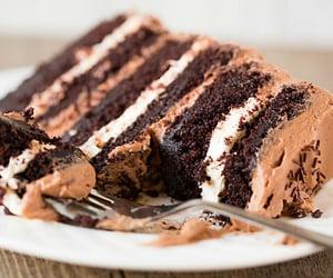 cake, chocolate, fashion and food