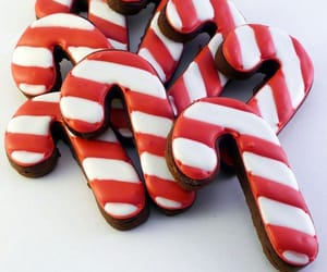 candy cane and Cookies image